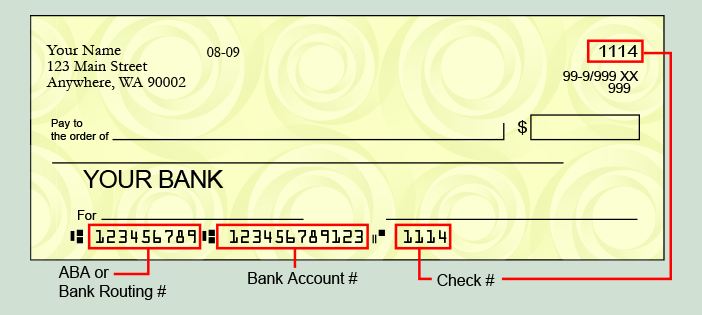 Routing Number • Traditions First Bank